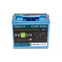 RELION RB20-X Lithium Ion gilaus iškrovimo akumuliatorius