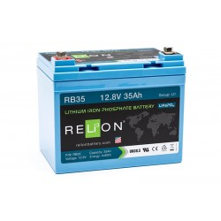 RELION RB35 Lithium Ion deep cycle battery