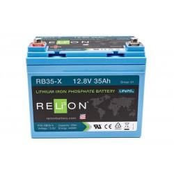 RELION RB35-X Lithium Ion gilaus iškrovimo akumuliatorius