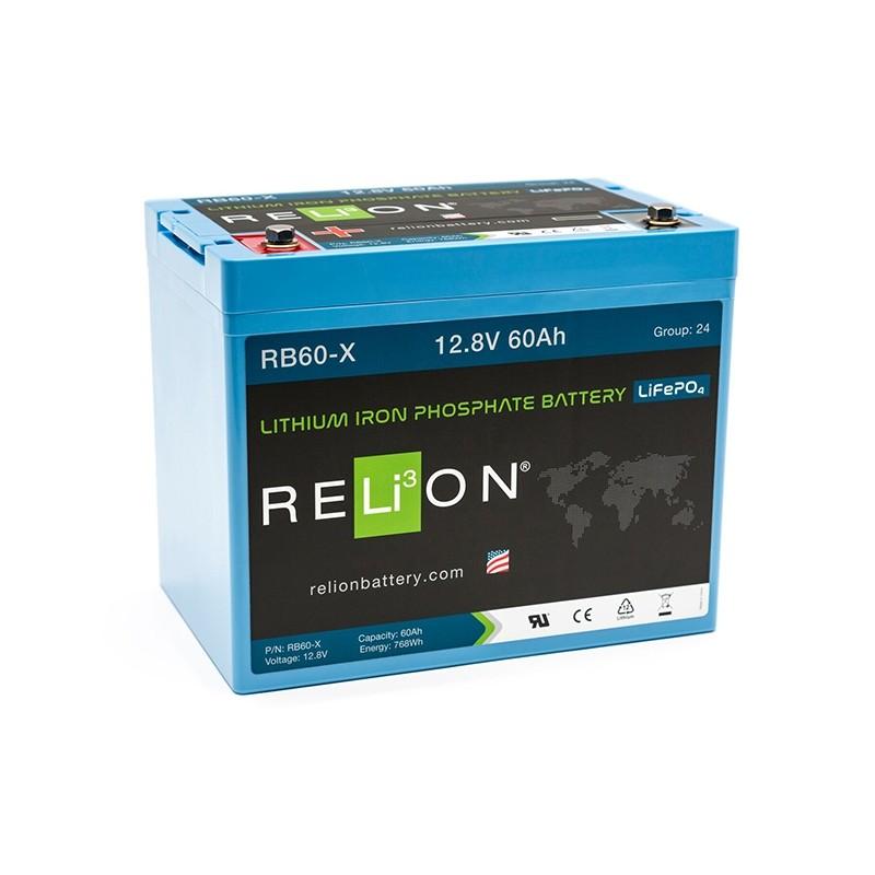 RELION RB60-X Lithium Ion gilaus iškrovimo akumuliatorius