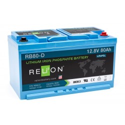 RELION RB80-D Lithium Ion deep cycle battery