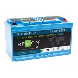 RELION RB100-DHP Lithium Ion gilaus iškrovimo akumuliatorius
