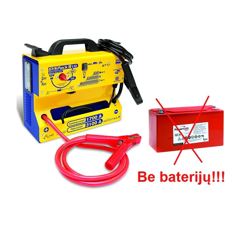 Professional booster GYSPACK-810 (without battery)