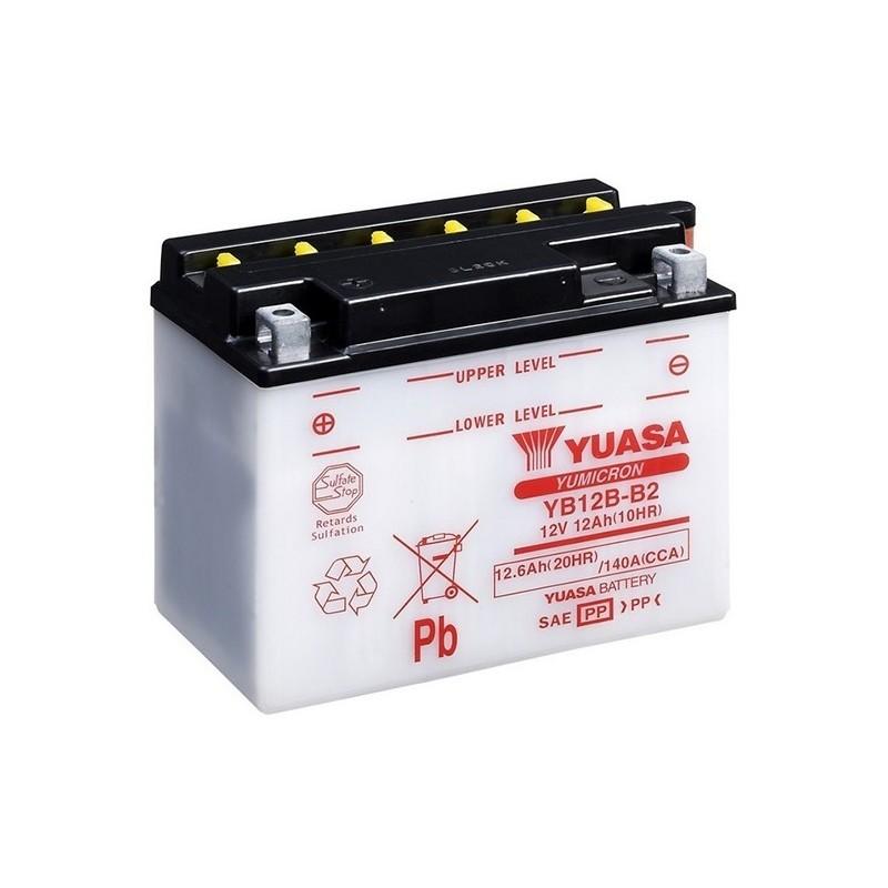 YUASA YB12B-B2 (51212) 11.6Ah (C20) akumuliatorius