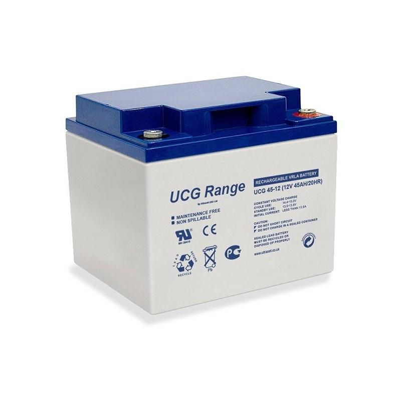 ULTRACELL 12V 45Ah GEL VRLA battery