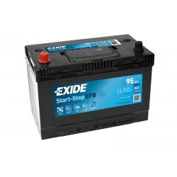 EXIDE EL955 EFB 95Ah 800A (EN) starter battery
