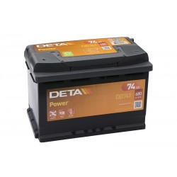 DETA DP20 (DB741) 74Ah battery