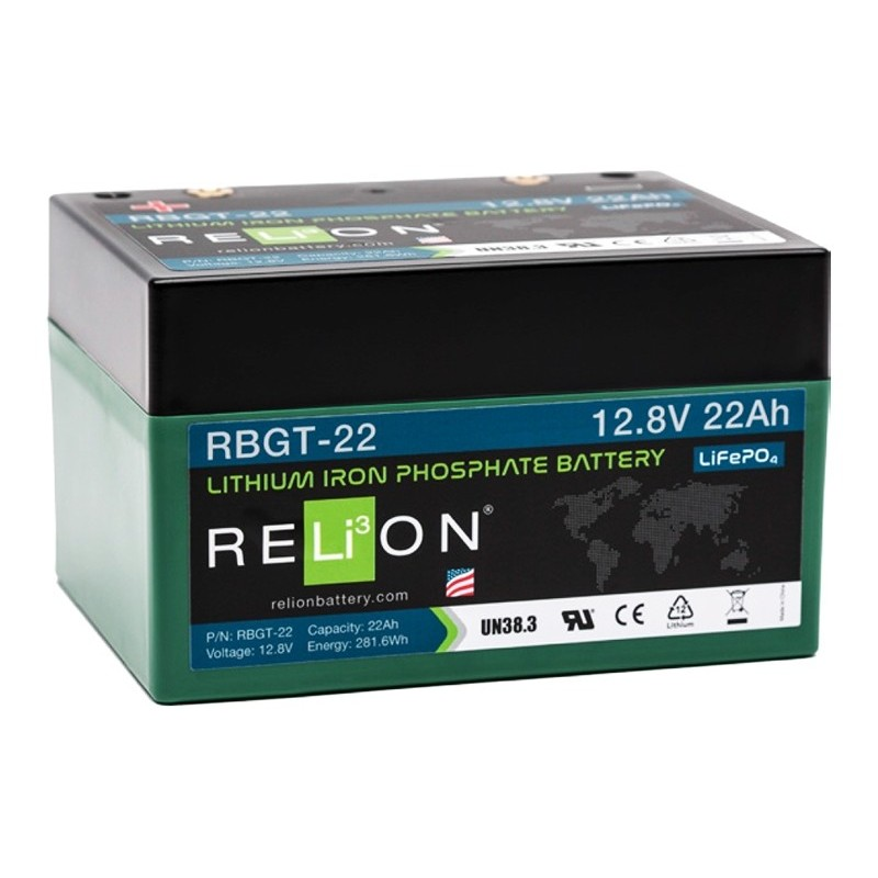 RELION RBGT22 Lithium Ion deep cycle battery