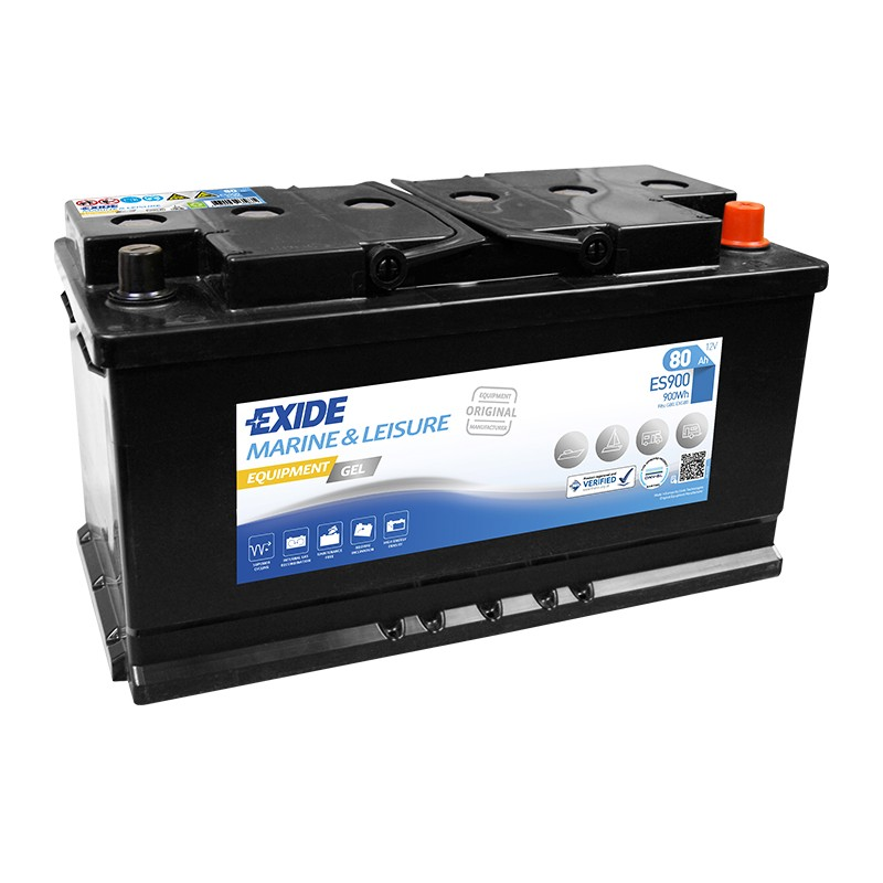 EXIDE GEL ES900 80Ah battery