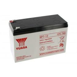 YUASA NP7-12 12V 7Ah AGM VRLA battery
