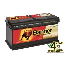BANNER Running Bull AGM 59201 92Ач аккумулятор