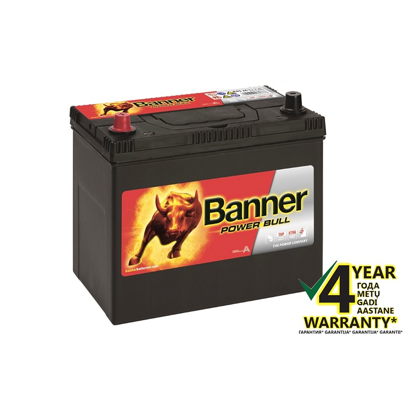 BANNER Power Bull P4524 45Ah battery