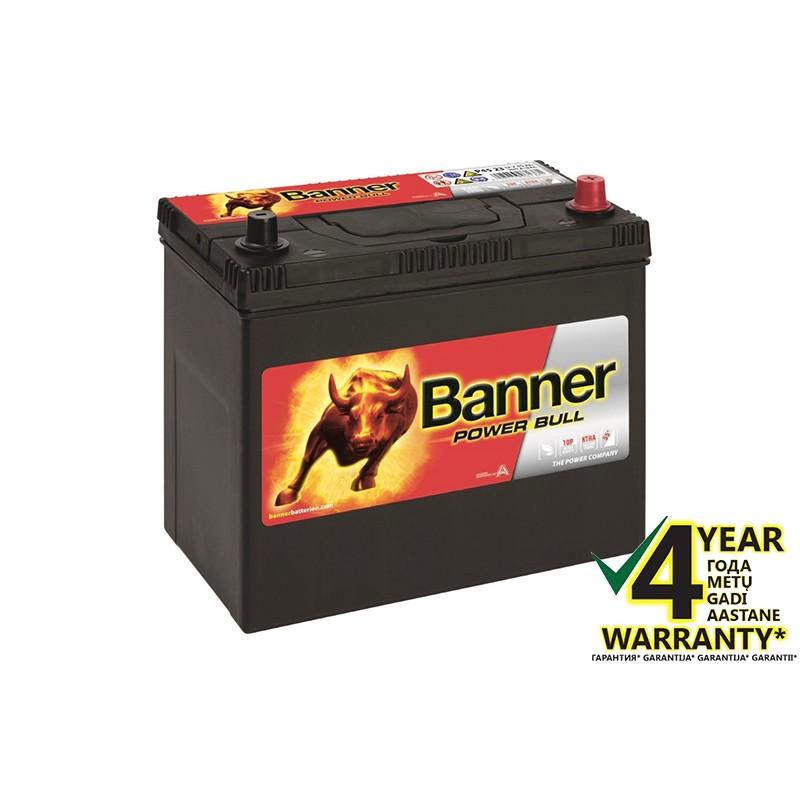 BANNER Power Bull P4523 45Ач аккумулятор