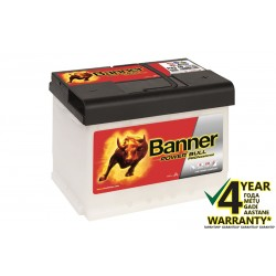 BANNER Power Pro P6340 63Ач аккумулятор