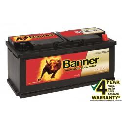 BANNER Running Bull AGM 60501 105Ач аккумулятор