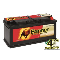 BANNER Running Bull AGM 60501 105Ah battery