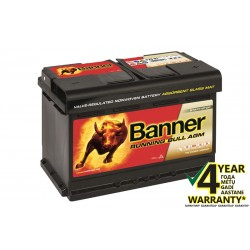 BANNER Running Bull AGM 57001 70Ah battery