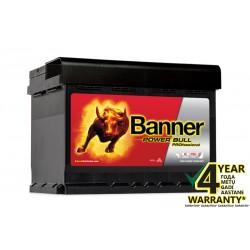 Akumumuliatorius Banner Power PRO 50Ah 400A (EN)