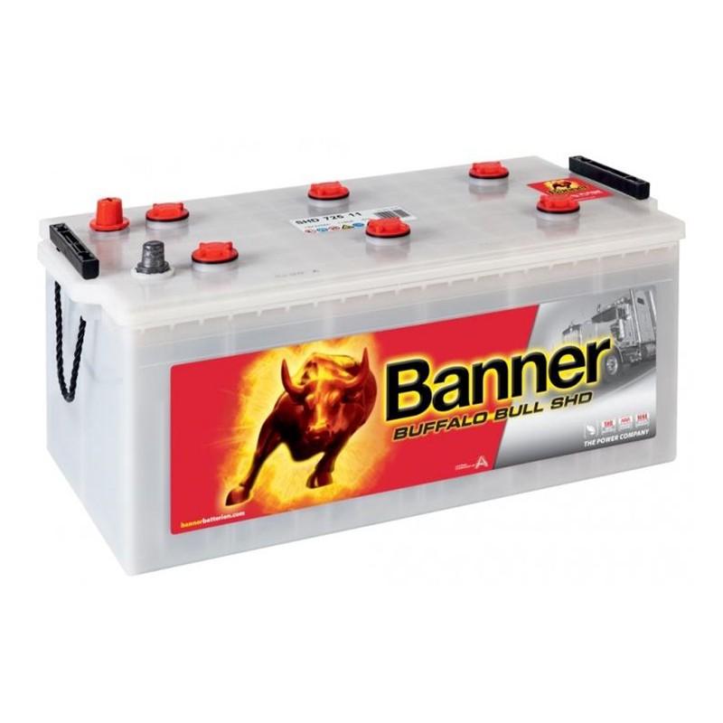 BANNER Buffalo Bull 72511 SHD 225Ah akumuliatorius