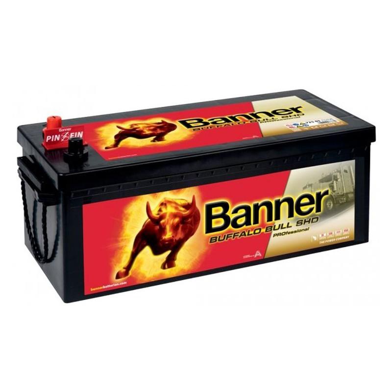 BANNER Buffalo Bull 72503 SHD PRO 225Ah akumuliatorius