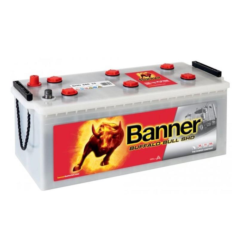 BANNER Buffalo Bull 68032 SHD 180Ah akumuliatorius
