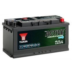 YUASA Leisure L36-100 EFB 100Ah 850A (EN) аккумулятор