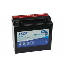 Battery for motorcycle EXIDE ETX20HL-BS