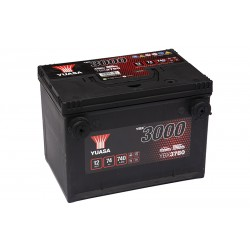 YUASA YBX3780 74Ah 740A (EN) akumuliatorius