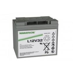 EXIDE Marathon L12V32 battery