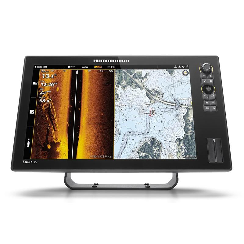 Echolotas Humminbird Solix 12 Chirp MSI+ GPS G2