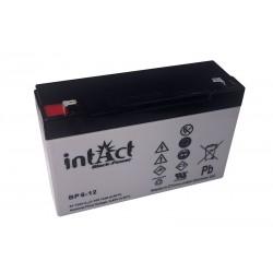 intAct BP6-12 6V 12Ah AGM VRLA akumuliatorius