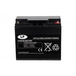 LANDPORT LFP12.8-20 12.8V 20Ah 256Wh Lithium Ion DC akumuliatorius