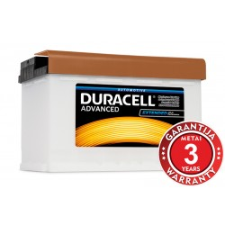 DURACELL Advanced DA77, 12V, 77Ah, 700A (EN)
