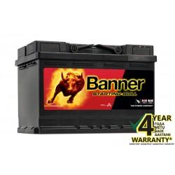 Starter battery Banner Starting Bull 72A 650A/EN