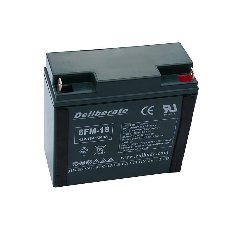 BAT 6FM18 12V 18Ah AGM VRLA battery