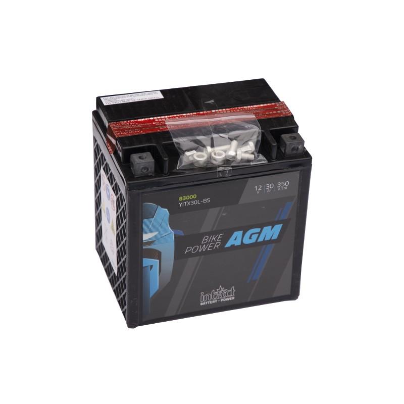 intAct YTX30L-BS (83000) 30Ah akumuliatorius