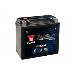 YUASA  YBXAX14 12V, 12Ah akumuliatorius