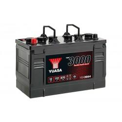 *YUASA YBX3664 SHD 112Ah 870 (EN) akumuliatorius