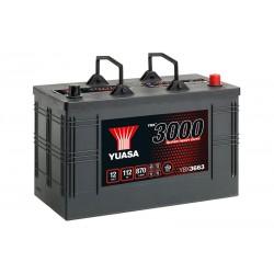 YUASA YBX3663 SHD 112Ah 870 (EN) akumuliatorius