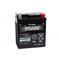 YUASA YTZ8V 7.4Ah (20Hr) 120A (EN) battery