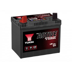 YUASA U1 12В 30Ач аккумулятор