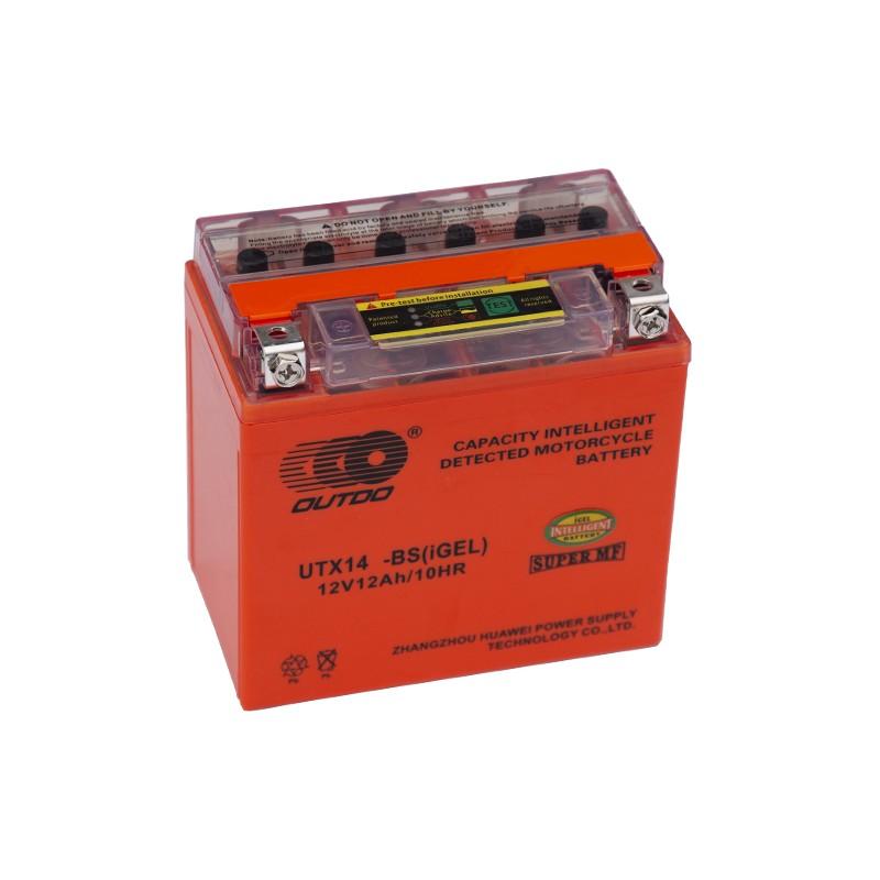 OUTDO (HUAWEI) YTX14-BS (i*-GEL) 12Ah akumuliatorius
