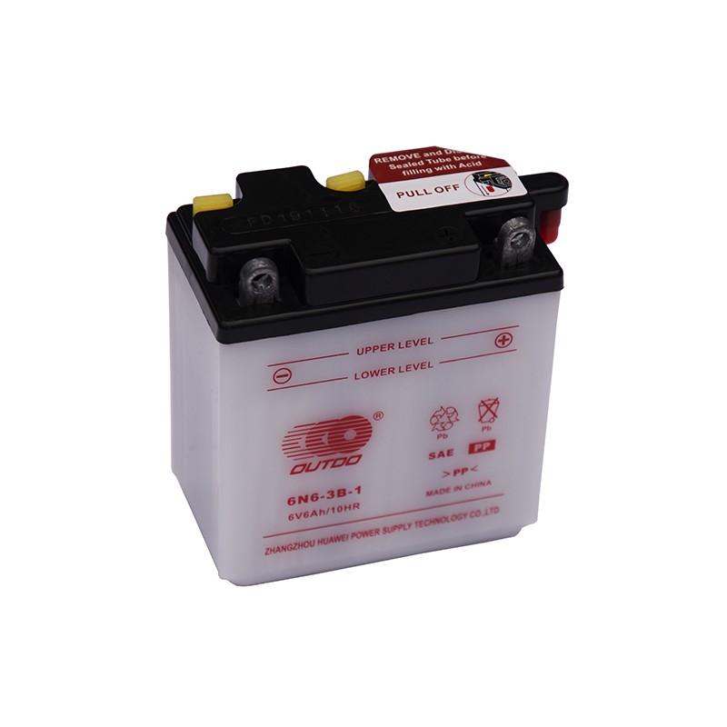 OUTDO (HUAWEI) 6N6-3B-1 6V 6Ah battery