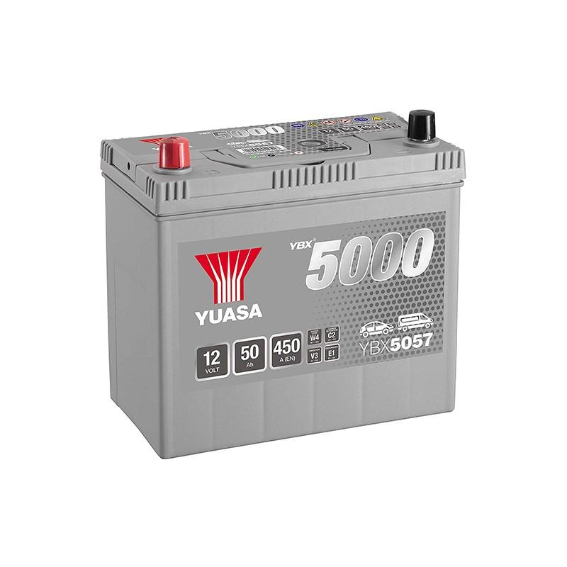 YUASA YBX5057 Silver 48Ah 430A battery