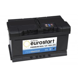 EUROSTART 58042 PREMIUM 80Ah 740A (EN) akumuliatorius