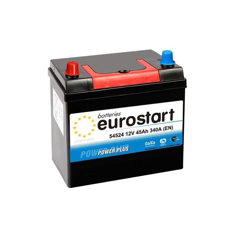 EUROSTART POWER PLUS 54524 45Ah akumuliatorius