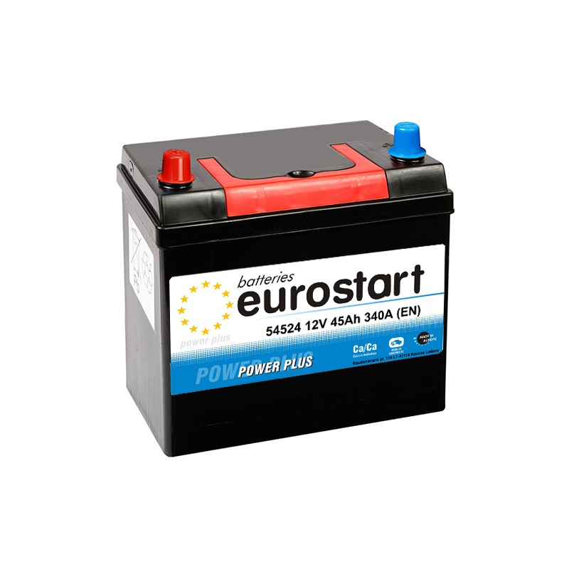 EUROSTART POWER PLUS 54524 45Ah battery