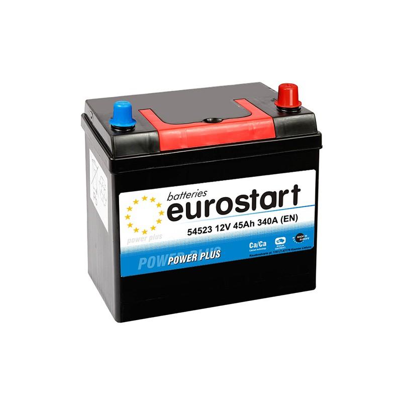 EUROSTART POWER PLUS 54523 45Ah akumuliatorius