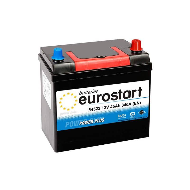EUROSTART POWER PLUS 54523 45Ah battery