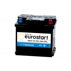 EUROSTART POWER PLUS 55059 50Ah akumuliatorius